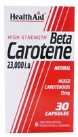 Health Aid Beta Carotene Caps (15mg)