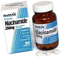 Health Aid Vitamin B3 250mg Niacinamide