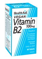 Health Aid Vitamin B2 100mg (Riboflavin)