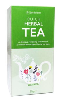 Jan De Vries Herbal Tea  - Click to view a larger image