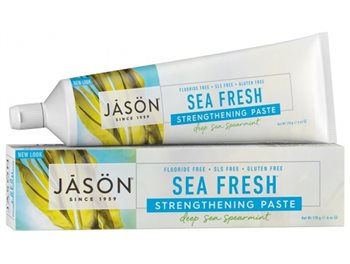 Jason Sea Fresh Strengthening Toothpaste  - Click to view a larger image