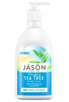 Jason Tea Tree Hand Soap  - Click to view a larger image