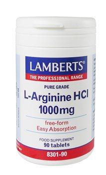 Lamberts L Arginine 1000mg  - Click to view a larger image