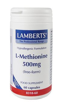 Lamberts L Methionine 500mg  - Click to view a larger image