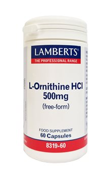 Lamberts L Ornithine 500mg  - Click to view a larger image