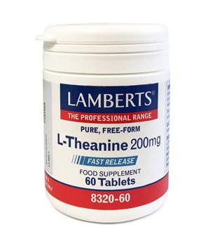 Lamberts L Theanine 200mg  - Click to view a larger image