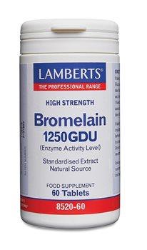Lamberts Bromelain 1250GDU  - Click to view a larger image