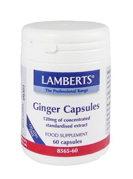 Lamberts Ginger Capsules  - Click to view a larger image