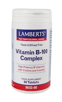 Lamberts Vitamin B100 Complex  - Click to view a larger image