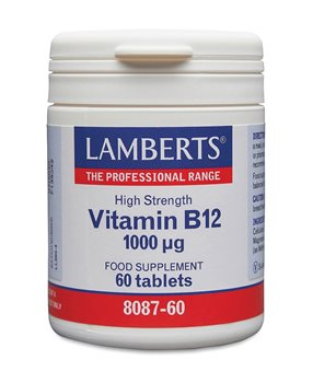 Lamberts Vitamin B12 1000ug  - Click to view a larger image
