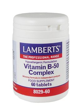 Lamberts Vitamin B50 Complex  - Click to view a larger image
