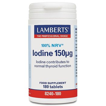 Lamberts Iodine 150ug   - Click to view a larger image