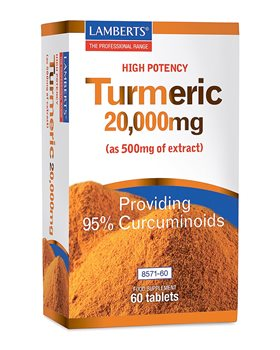 Lamberts Turmeric 20000mg  - Click to view a larger image
