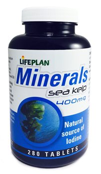 Lifeplan Sea Kelp 400mg  - Click to view a larger image