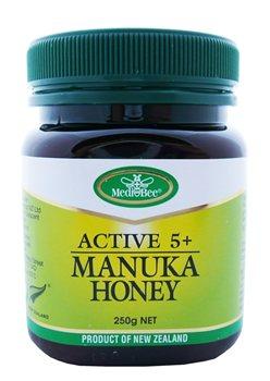 MediBee UMF 5+ Manuka Honey    - Click to view a larger image