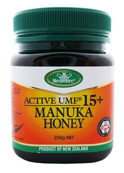 MediBee UMF 15+ Manuka Honey   - Click to view a larger image