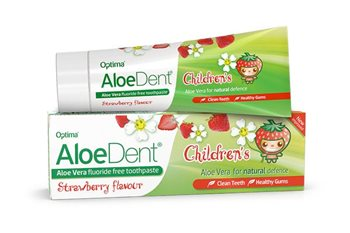 Aloe Dent Childrens Toothpaste  - Click to view a larger image