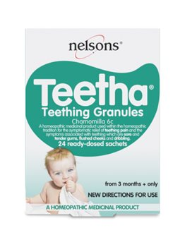 Nelsons Teetha Teething Granules  - Click to view a larger image