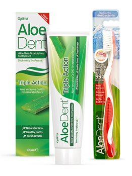 Aloe Dent Aloe vera Triple Action Toothpaste   - Click to view a larger image
