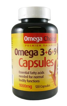 Optima Omega Choice 3 6 9 Capsules  - Click to view a larger image
