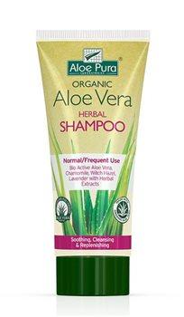 Aloe Pura Aloe Vera Herbal Shampoo - Normal  - Click to view a larger image