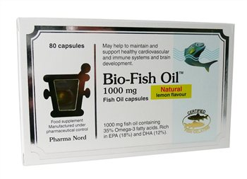 Pharmanord Bio Fish Oil 1000mg  - Click to view a larger image