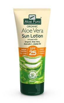 Aloe Pura Aloe Vera Sun Lotion SPF 25  - Click to view a larger image