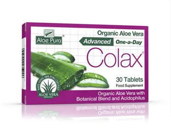 Aloe Pura Aloe Vera Colax Advanced Tablets  - Click to view a larger image