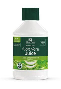Aloe Pura Aloe Vera Juice Max Strength   - Click to view a larger image