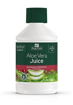 Aloe Pura Aloe Vera Juice Cranberry Flavour  - Click to view a larger image