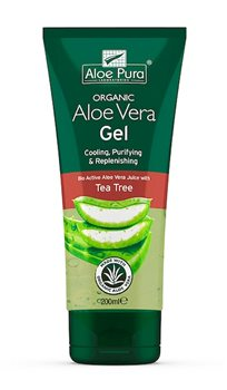 Aloe Pura Aloe Vera Gel with Tea Tree   - Click to view a larger image