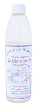 Earth Friendly Baby Organic Lavender Bubble Bath  - Click to view a larger image