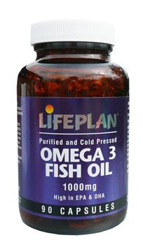Lifeplan Omega 3 Fish Oil 1000mg  - Click to view a larger image