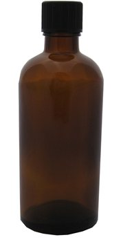 Absolute Aromas Amber Glass Bottle  - Click to view a larger image