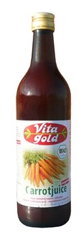 Vita Gold Juices Organic Carrot Juice (case of 12)  - Click to view a larger image