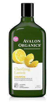 Avalon Organics Lemon Clarifying Shampoo  - Click to view a larger image