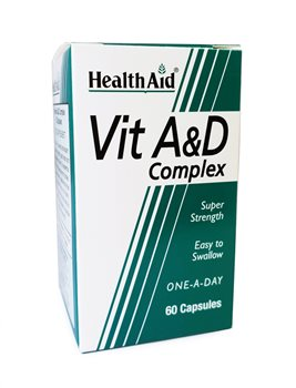 Health Aid Vitamin A & D Complex  - Click to view a larger image