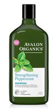 Avalon Organics Peppermint Revitalizing Shampoo  - Click to view a larger image