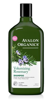 Avalon Organics Rosemary Volumizing Shampoo  - Click to view a larger image