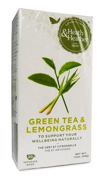 Heath & Heather Green Tea & Lemongrass  - Click to view a larger image