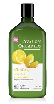 Avalon Organics Lemon Clarifying Conditioner  - Click to view a larger image