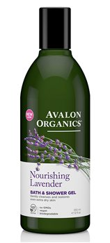 Avalon Organics Lavender Bath and Shower Gel  - Click to view a larger image