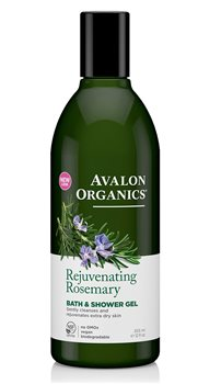 Avalon Organics Rosemary Bath and Shower Gel  - Click to view a larger image