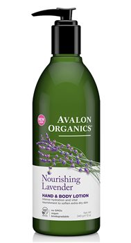 Avalon Organics Lavender Hand and Body Lotion  - Click to view a larger image