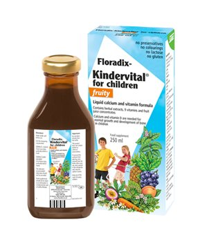 Salus Kindervital Fruity Formula  - Click to view a larger image