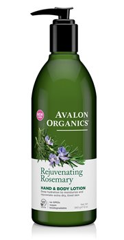 Avalon Organics Rosemary Hand and Body Lotion  - Click to view a larger image