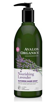 Avalon Organics Lavender Liquid Soap  - Click to view a larger image