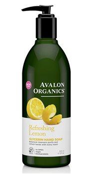 Avalon Organics Lemon Liquid Soap  - Click to view a larger image