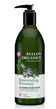 Avalon Organics Rosemary Liquid Soap  - Click to view a larger image
