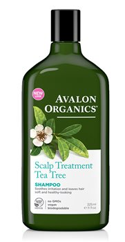 Avalon Organics Tea Tree Scalp Treatment Shampoo  - Click to view a larger image